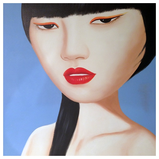 KARE - Oil painting Mei Ling 100 x 100 cm -45%