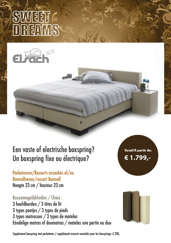 elsach un lit boxspring a vous faire r ver momentum. Black Bedroom Furniture Sets. Home Design Ideas